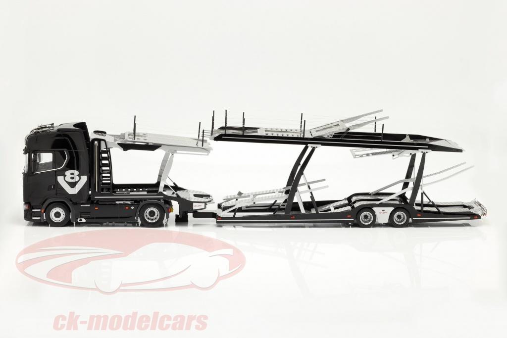 nzg-1-18-set-scania-v8-730s-schwarz-mit-lohr-autotransporter-schwarz-silber-1019-51-971/