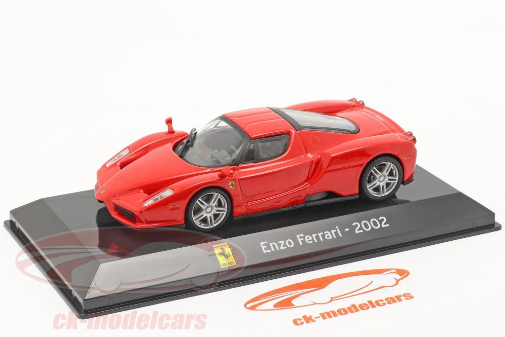 Altaya 1 43 Ferrari Enzo Year 2002 Red Magscferenzo Model Car Magscferenzo