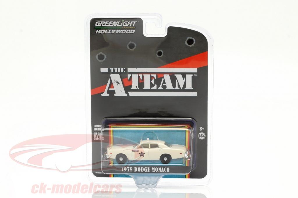 greenlight-1-64-dodge-monaco-taxi-1978-series-de-television-the-a-team-1983-87-44865b/