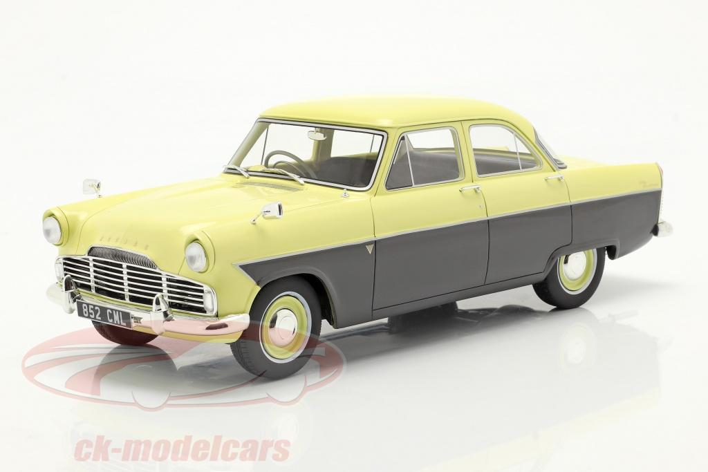 cult-scale-models-1-18-ford-zodiac-206e-bygger-1957-gul-mrkegr-cml085-2/