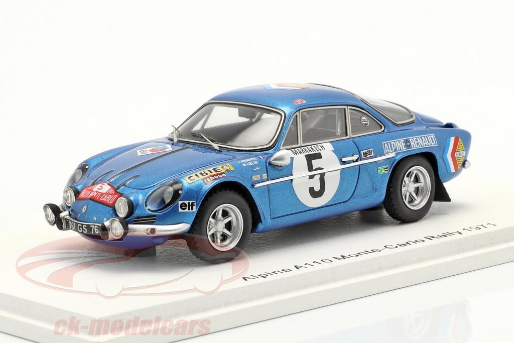 spark-1-43-alpine-a110-no5-9th-rallye-monte-carlo-1971-vinatier-gelin-s6107/