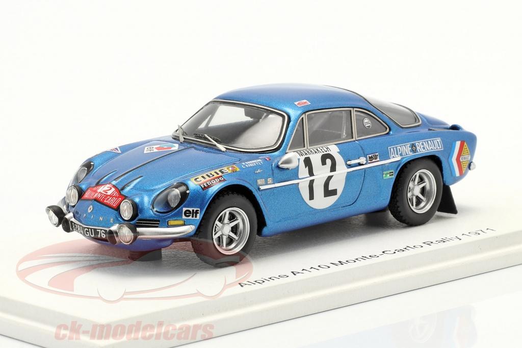 spark-1-43-alpine-a110-no12-8th-rallye-monte-carlo-1971-darniche-robertet-s6106/