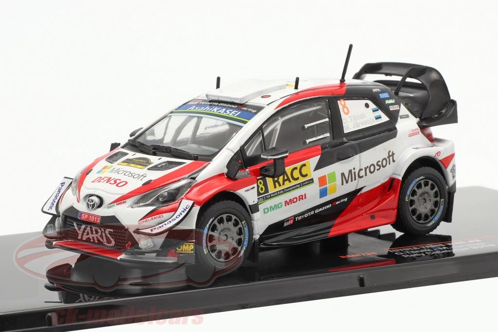 ixo-1-43-toyota-yaris-wrc-no8-2e-rallye-catalunya-champion-du-monde-2019-taenak-jaerveoja-ram734/