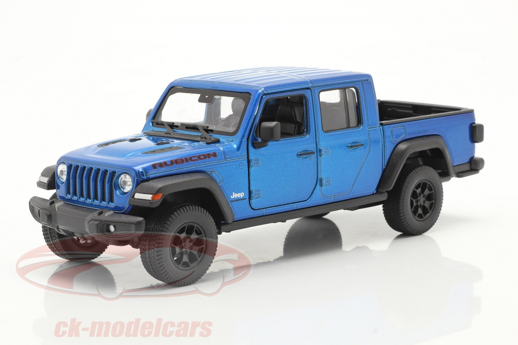 welly-1-24-jeep-gladiator-rubicon-pick-up-annee-de-construction-2020-bleu-metallique-24103b/