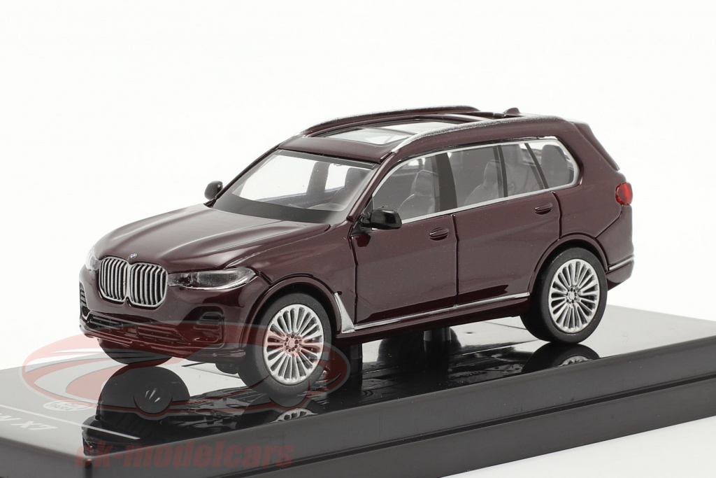 paragonmodels-1-64-bmw-x7-g07-lhd-year-2019-ametrine-red-metallic-paragon-models-55194l/
