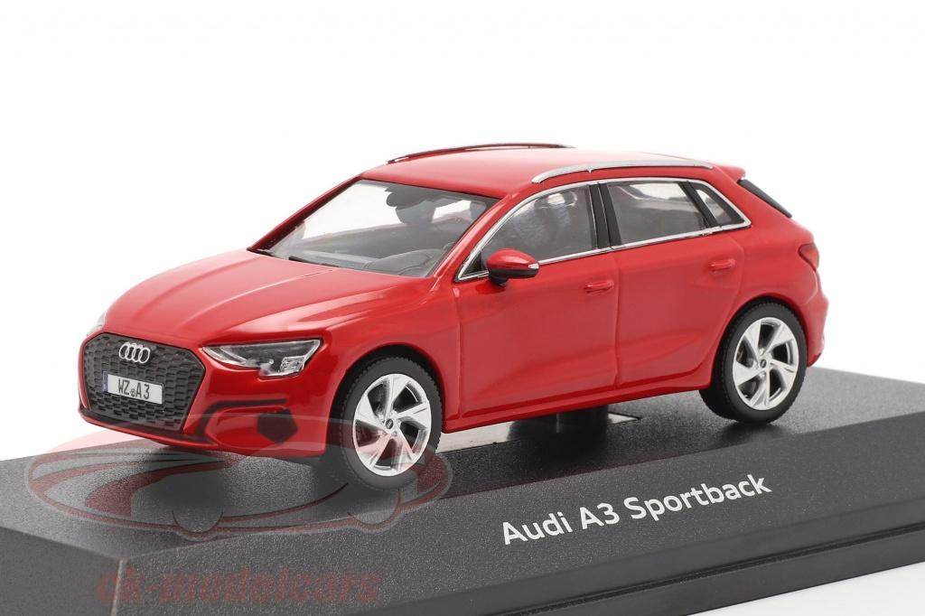 iscale-1-43-audi-a3-sportback-baujahr-2020-tango-rot-4300080/