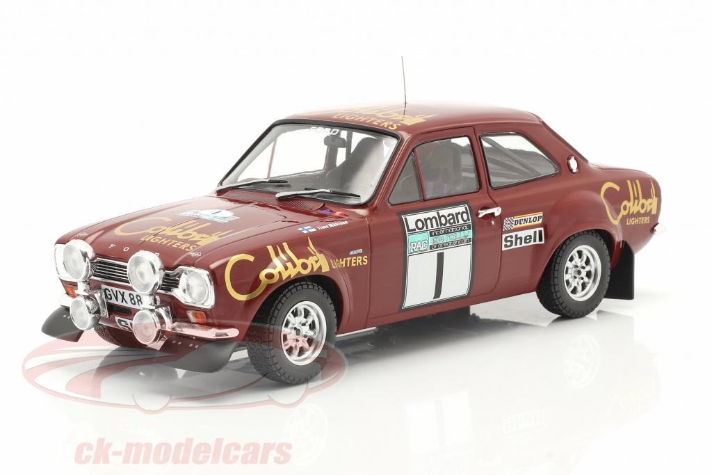 ixo-1-18-ford-escort-mk1-rs-1600-no1-gagnant-lombard-rac-rallye-1974-maekinen-liddon-18rmc047a/