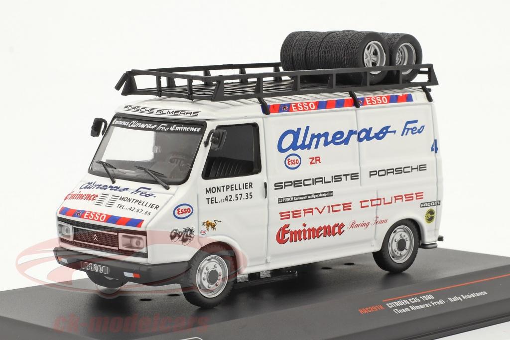 ixo-1-43-citroen-c35-van-1980-rallye-assistance-team-almeras-fres-rac291x/