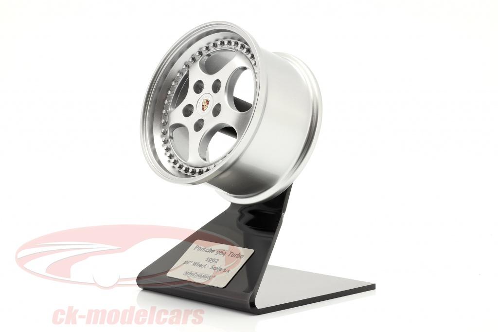 minichamps-1-5-porsche-911-964-1992-18-inch-borde-plata-500601964/