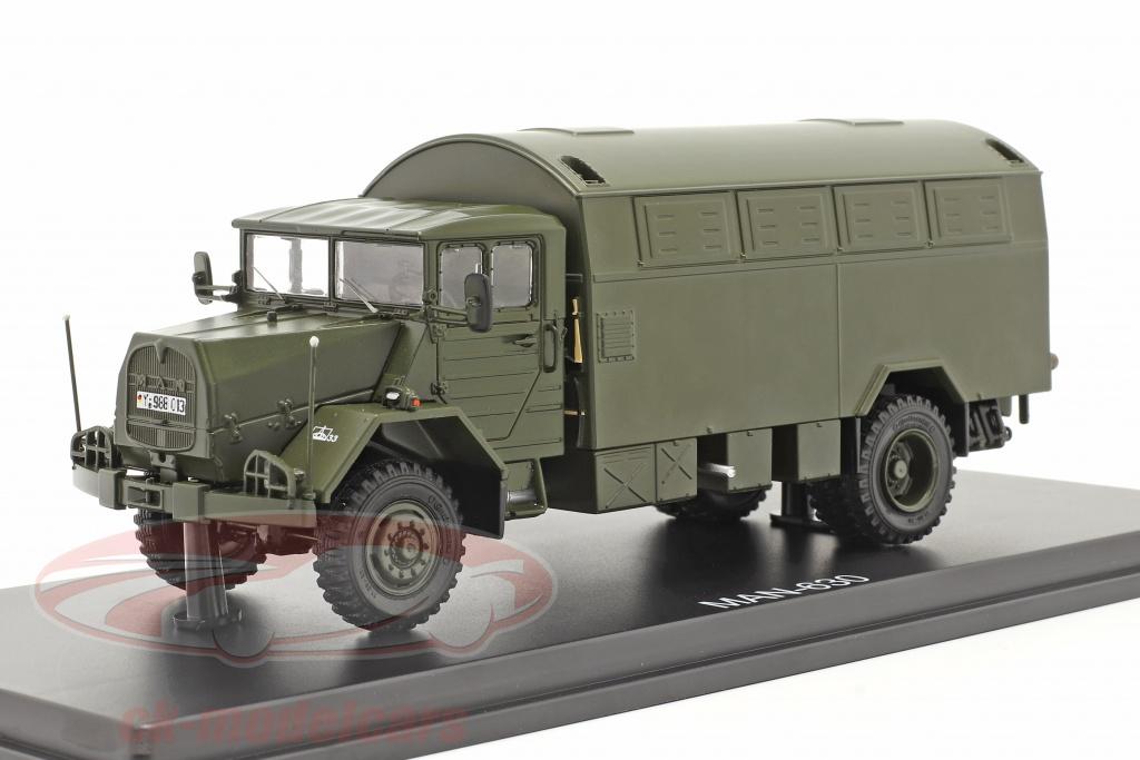 premium-classixxs-1-43-man-630-bevbnede-styrker-militr-kretj-lastbil-med-kasse-prmie-classixxno39er-pcl47115/