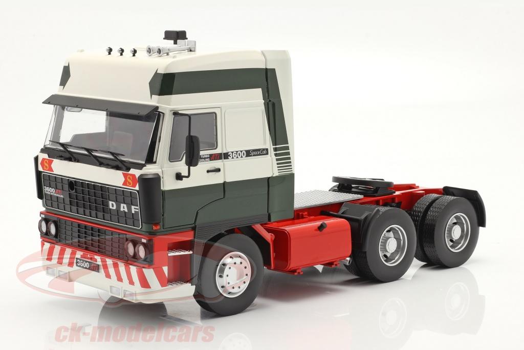 road-kings-1-18-daf-3600-spacecab-vrachtwagen-bouwjaar-1986-donkergroen-wit-rood-rk180092/
