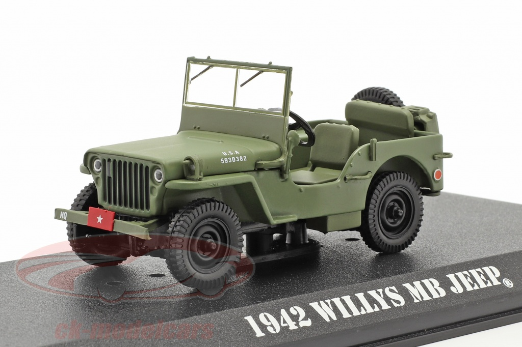 greenlight-1-43-jeep-willys-mb-1942-tv-serie-mash-1972-83-oliva-86589/