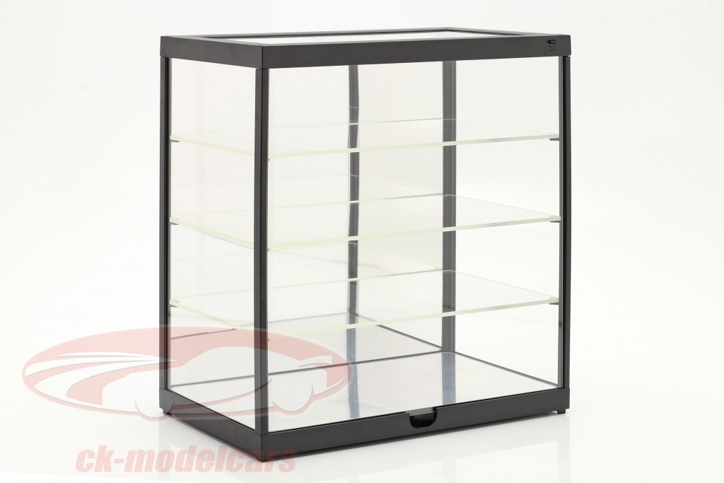 enkelt-udstillingsvindue-med-led-lys-og-spejl-til-vgt-1-24-sort-triple9-t9-247840mbk/