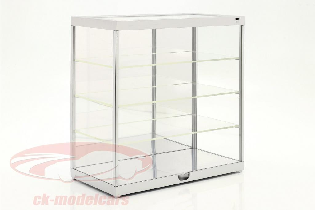 einzelvitrine-mit-led-beleuchtung-und-spiegel-fuer-1-18-1-24-silber-triple9-t9-247840ms/