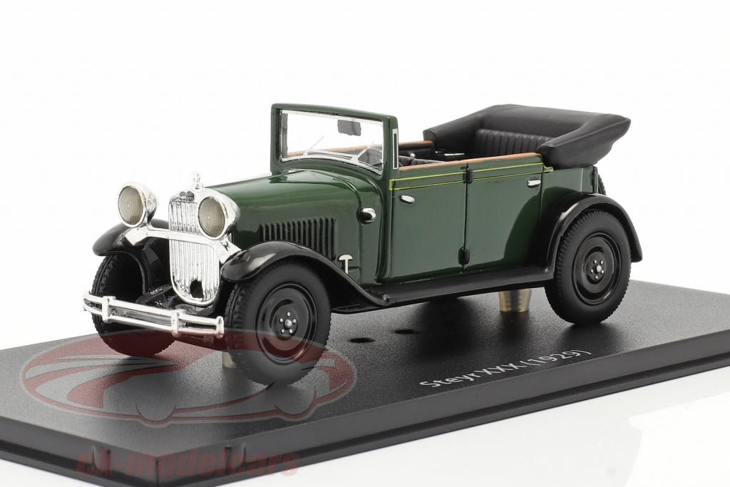 fahrtraum-1-43-steyr-xxx-cabriolet-anno-di-costruzione-1929-verde-ck65824/