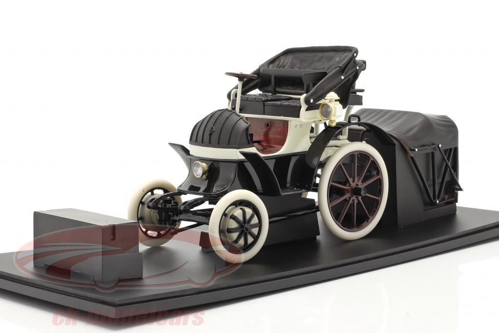 fahrtraum-1-18-lohner-porsche-bouwjaar-1900-zwart-wit-ck65834/
