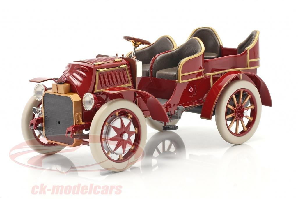 fahrtraum-1-18-lohner-porsche-mixte-hybrid-year-1901-red-ck65833/