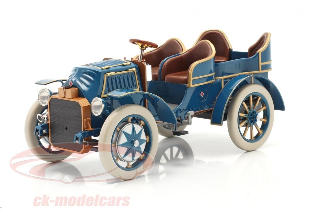 fahrtraum-1-18-lohner-porsche-mixte-hybrid-year-1901-blue-ck65832/