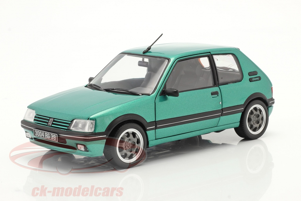 norev-1-18-peugeot-205-gti-griffe-construction-year-1990-green-metallic-184855/