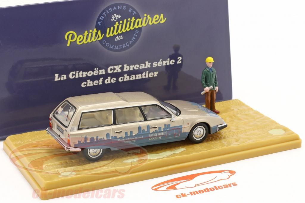 La Citroën CX Break serrurier 1//43 Atlas Voiture Camionnette PUM018