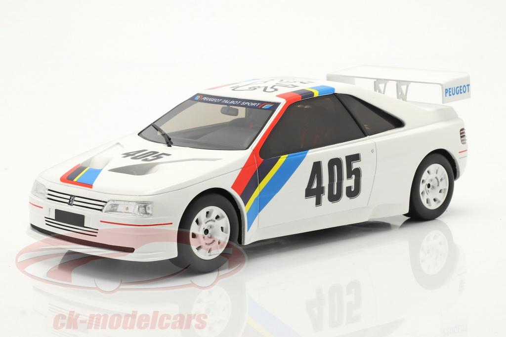 ottomobile-1-18-peugeot-405-t16-gr-s-no405-presentation-car-1988-hvid-ot850/