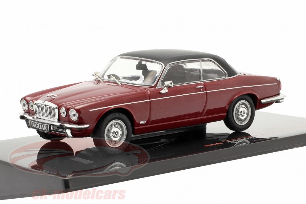 ixo-1-43-jaguar-xj12c-annee-de-construction-1976-fonce-rouge-noir-clc345n/