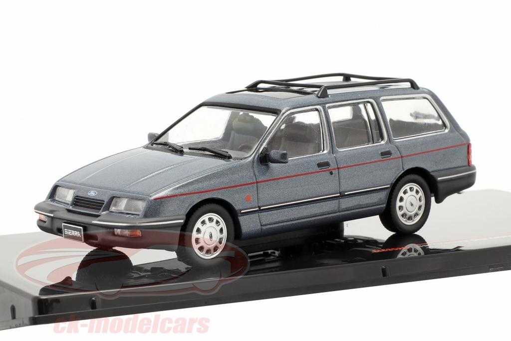 ixo-1-43-ford-sierra-ghia-estate-rural-annee-de-construction-1988-gris-bleu-metallique-clc352n/
