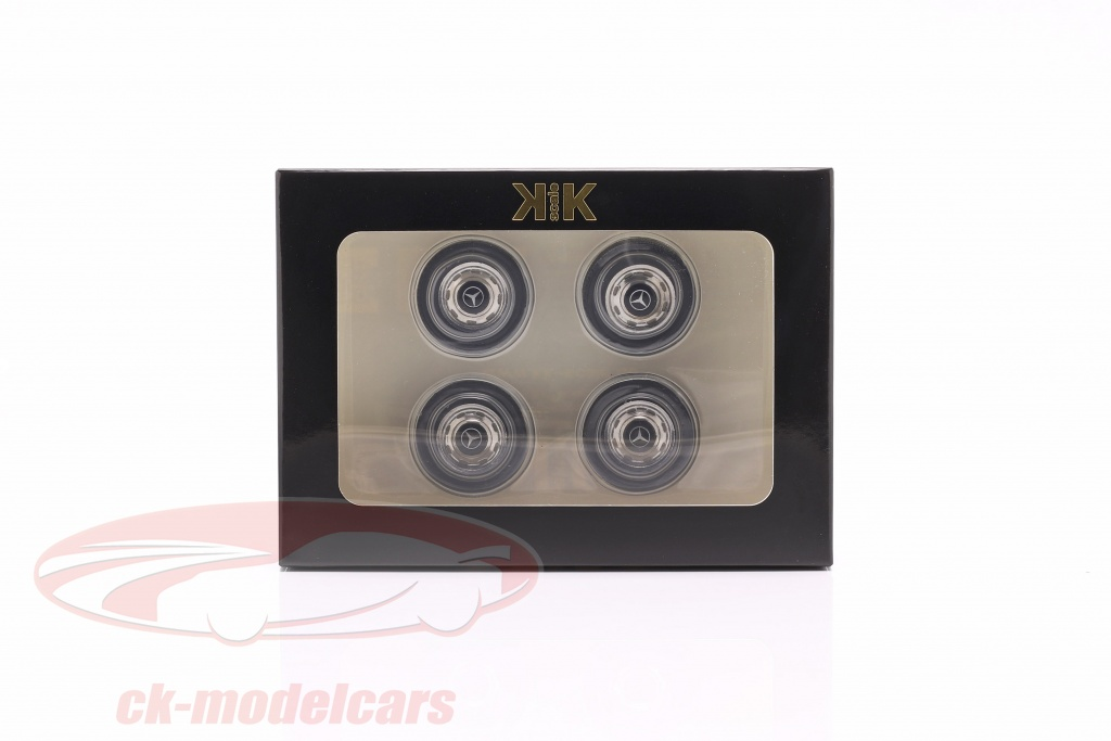 kk-scale-1-18-mercedes-benz-tires-and-rims-set-black-chrome-kkdcacc004/