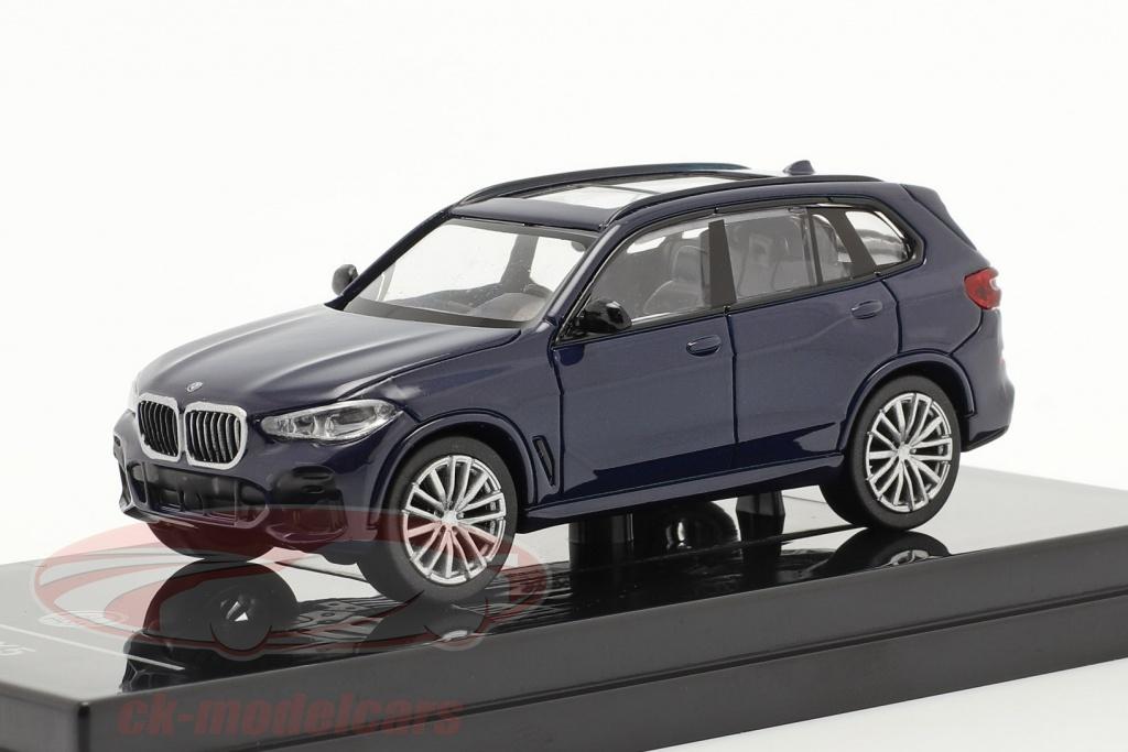 paragonmodels-1-64-bmw-x5-g05-annee-de-construction-2018-tanzanite-bleu-paragon-models-55182l/