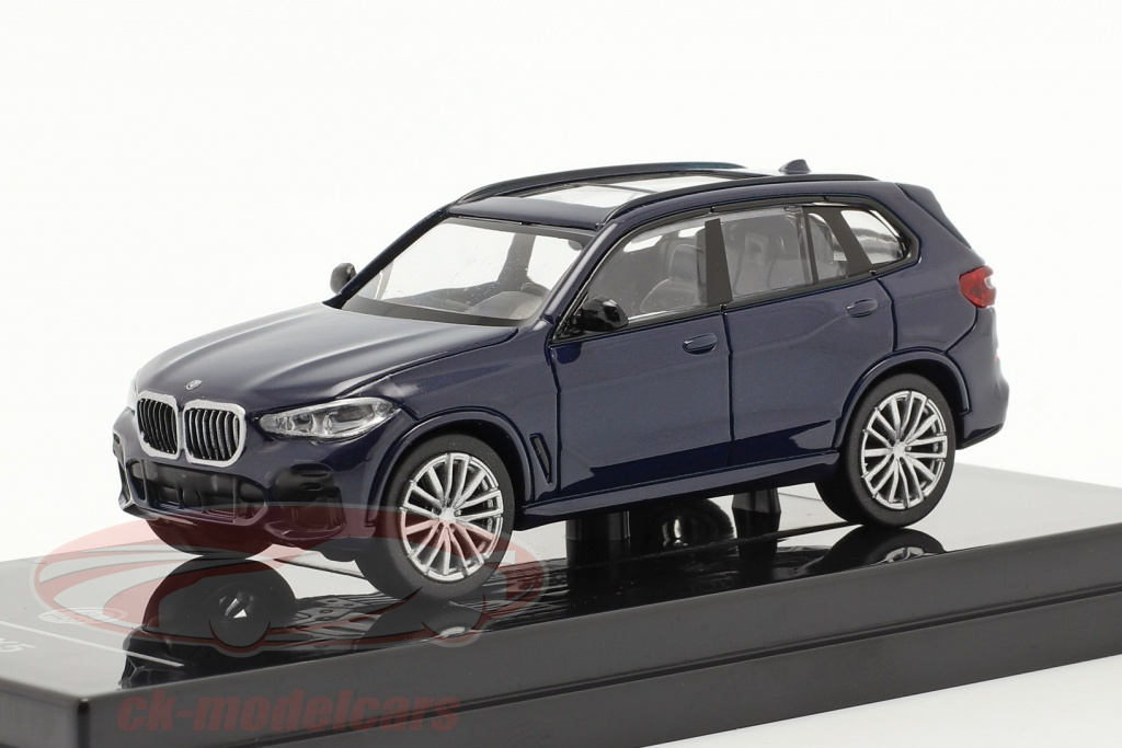 paragonmodels-1-64-bmw-x5-g05-year-2018-tanzanite-blue-paragon-models-55182l/
