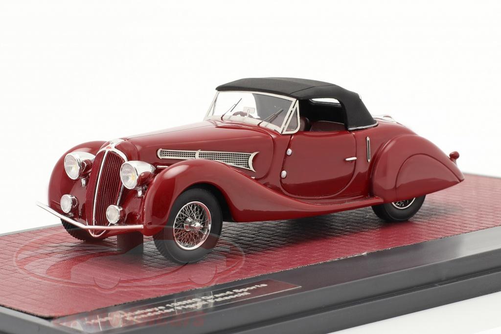 matrix-1-43-delahaye-135ms-grand-sport-roadster-figoni-falschi-1939-donker-rood-mx40408-032/