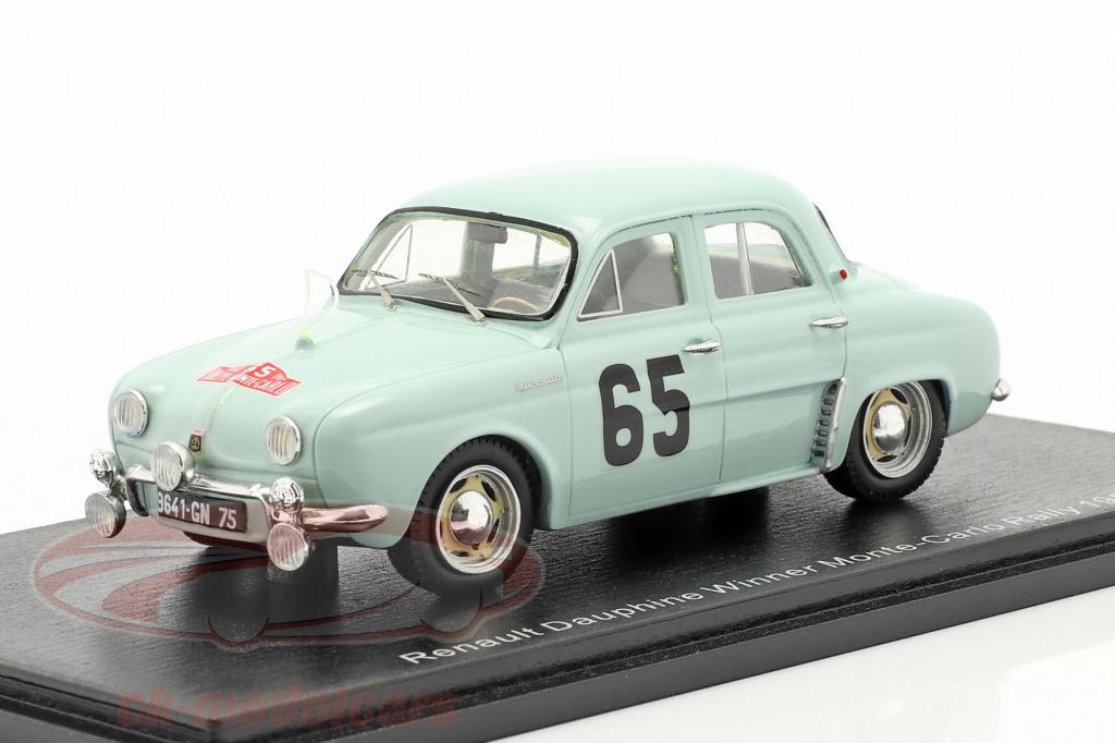 spark-1-43-renault-dauphine-no65-gagnant-rallye-monte-carlo-1958-feret-monraisse-s5207/
