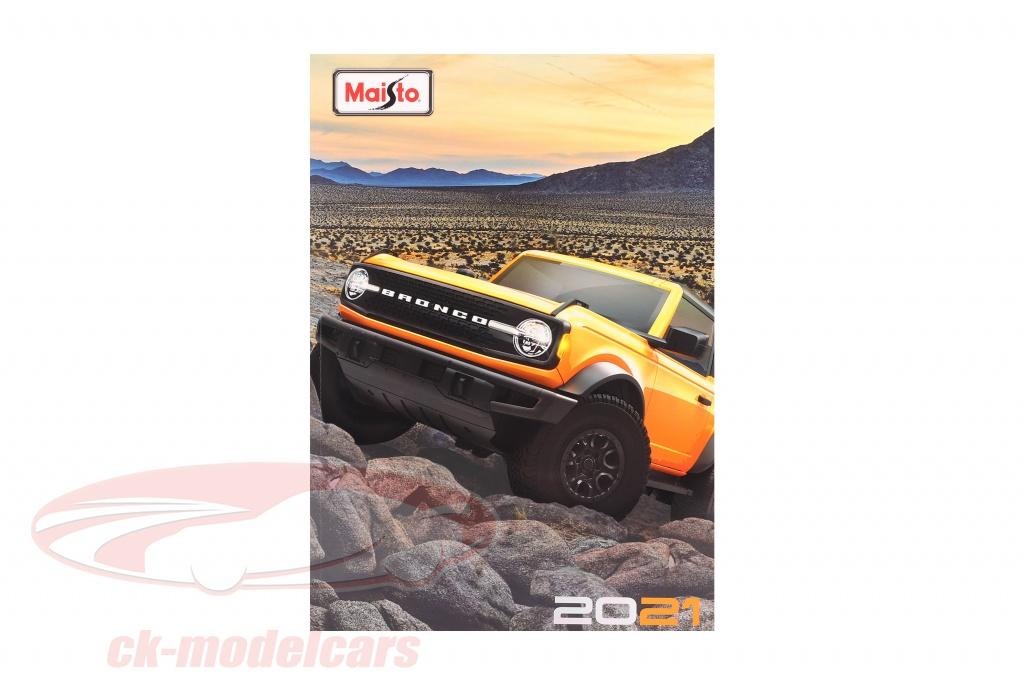 maisto-catalog-2021-ck66222/