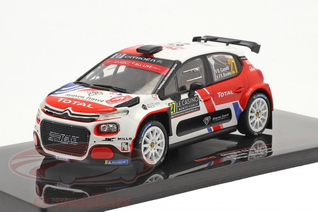 ixo-1-43-citroen-c3-r5-no27-rally-monte-carlo-2020-camilli-buresi-ram747/