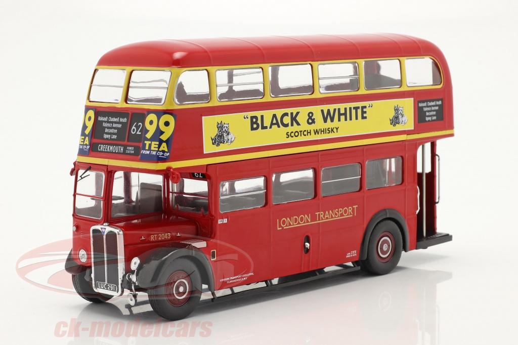 ixo-1-43-aec-regent-iii-rt-rhd-london-transport-bus-anno-di-costruzione-1939-rosso-bus026lq/