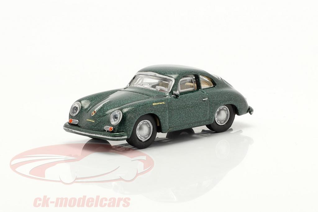 schuco-1-87-porsche-356a-coupe-donkergroen-metalen-452658000/