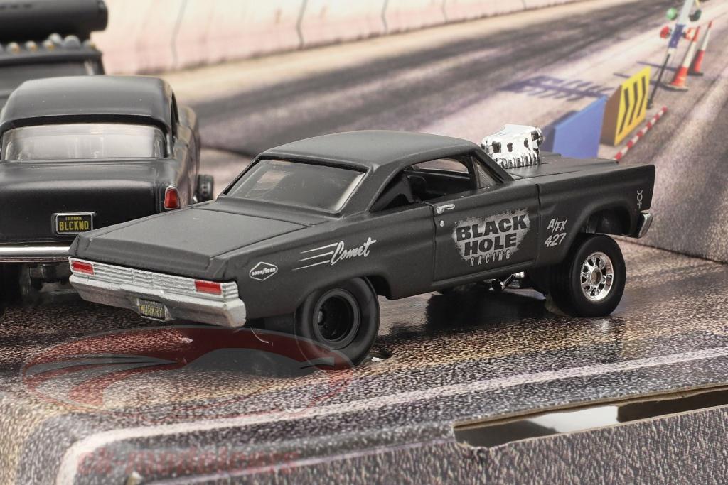 hotwheels-1-64-4-car-set-black-hole-gassers-estera-gris-oscuro-gmh39-956c/