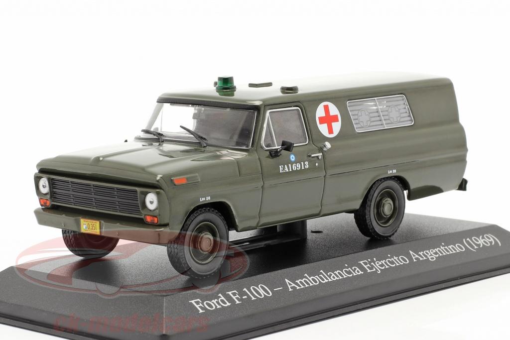 altaya-1-43-ford-f-100-militaire-ambulance-argentini-bouwjaar-1969-olijf-ser15/