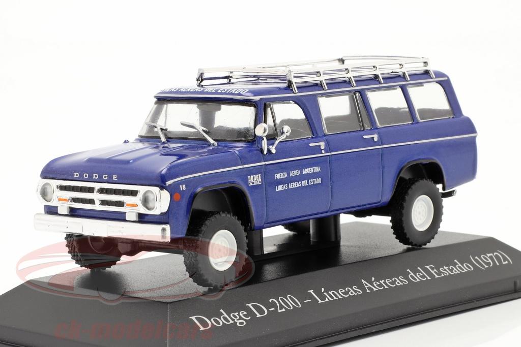 altaya-1-43-dodge-d-200-staatliche-fluggesellschaft-argentinien-1972-blau-ser12/