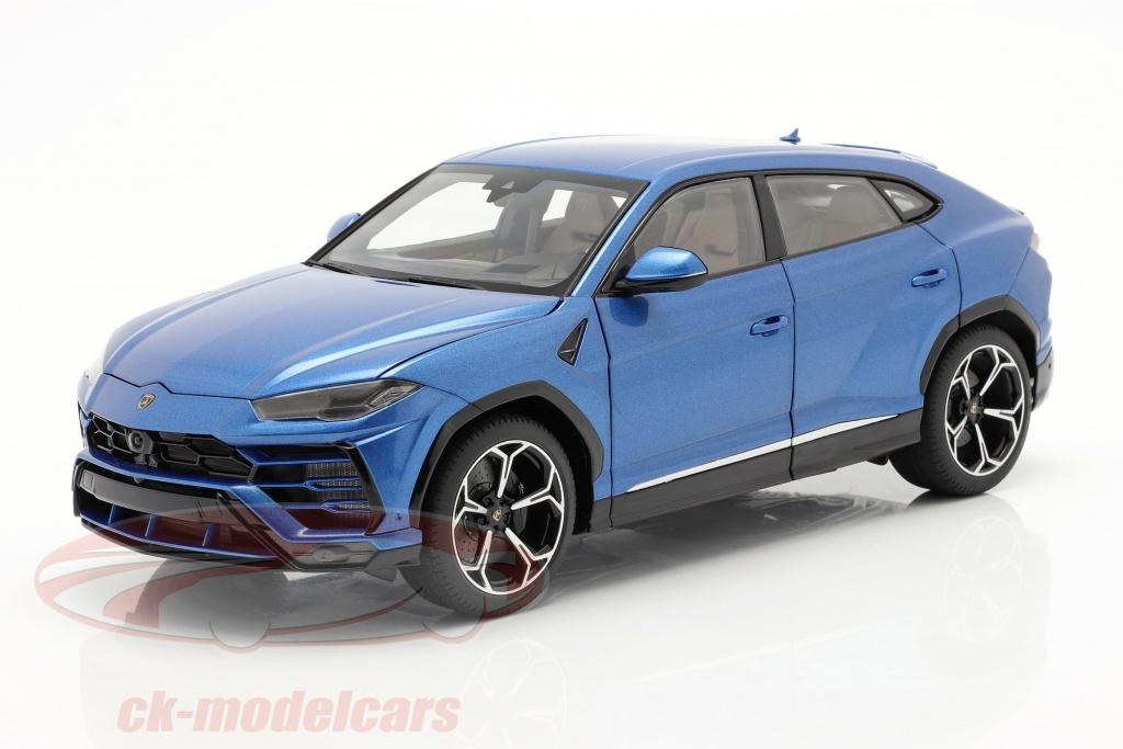 autoart-1-18-lamborghini-urus-year-2018-blue-metallic-79162/