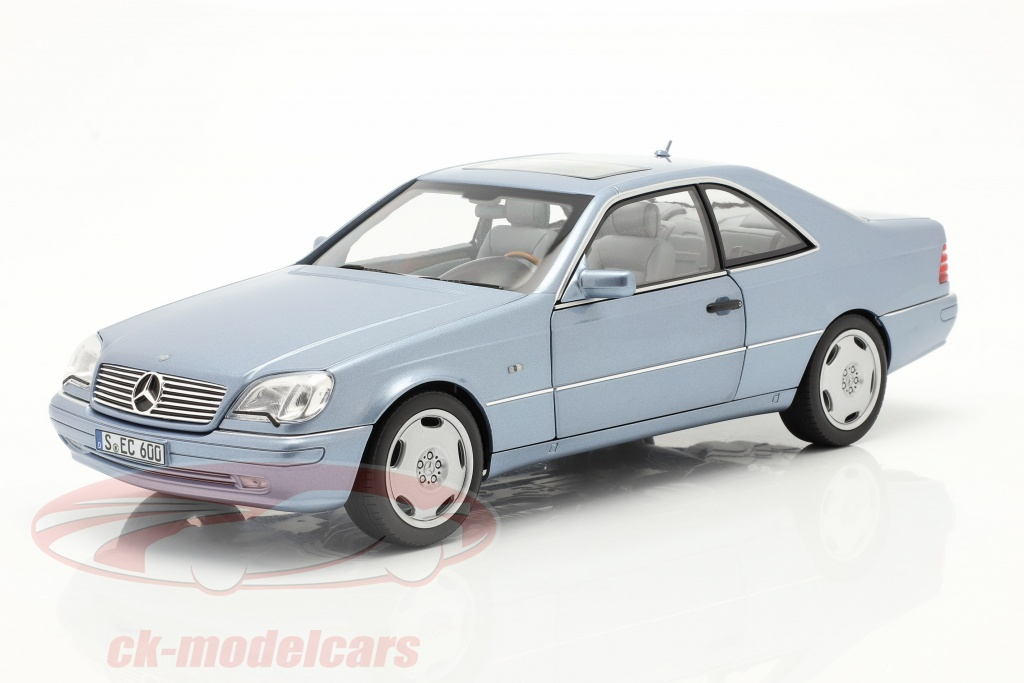 norev-1-18-mercedes-benz-cl-600-coupe-c140-year-1996-1998-pearl-blue-metallic-b66040652/