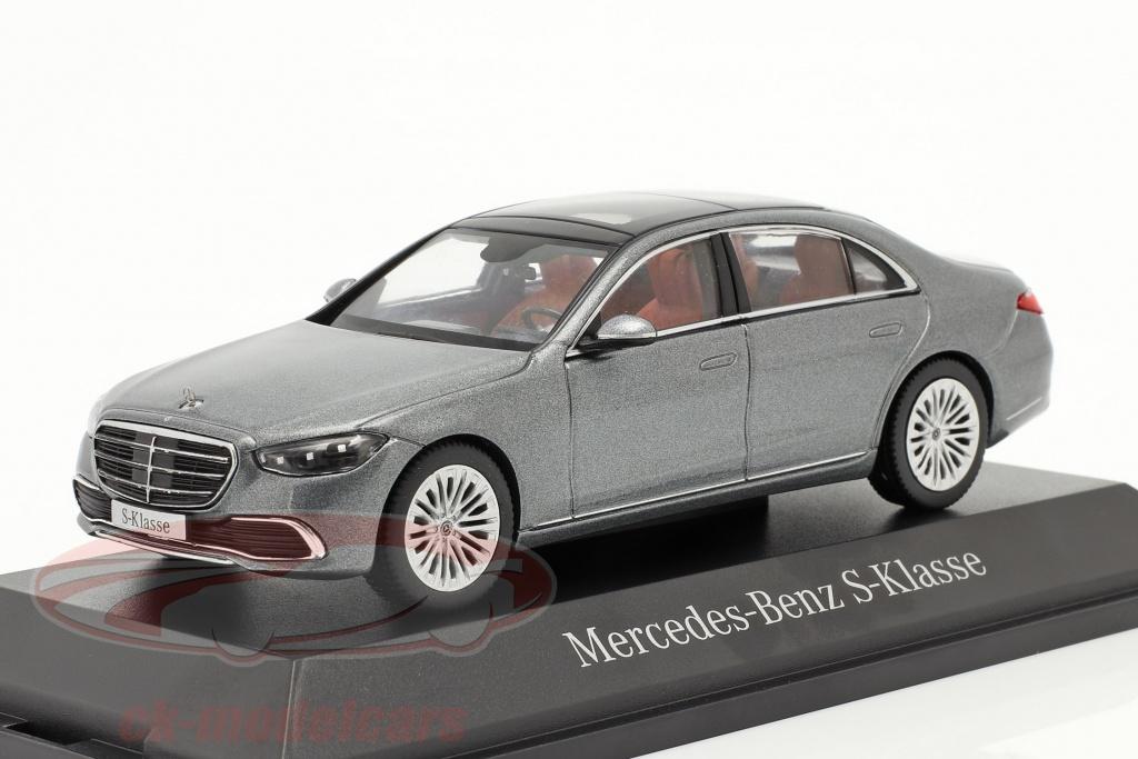 herpa-1-43-mercedes-benz-s-class-v223-construction-year-2020-selenite-gray-b66960631/