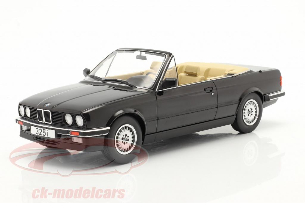 modelcar-group-1-18-bmw-3-serie-325i-e30-cabriolet-bouwjaar-1985-zwart-mcg18153/