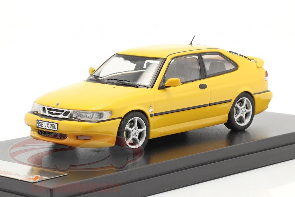 premium-x-1-43-saab-9-3-viggen-an-1999-jaune-prd432/