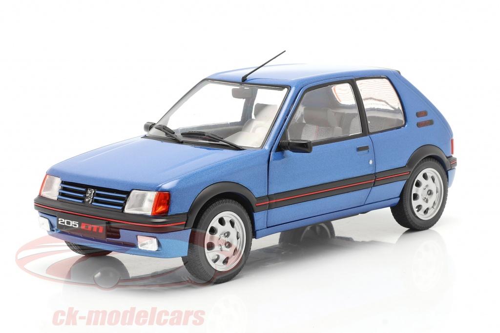 solido-1-18-peugeot-205-gti-19l-mk1-annee-de-construction-1988-bleu-metallique-s1801708/