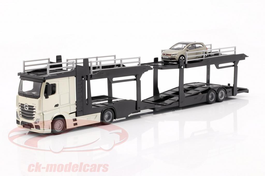 bburago-1-43-mercedes-benz-actros-transporteur-de-voitures-avec-vw-polo-gti-or-noir-gris-metallique-18-31458/