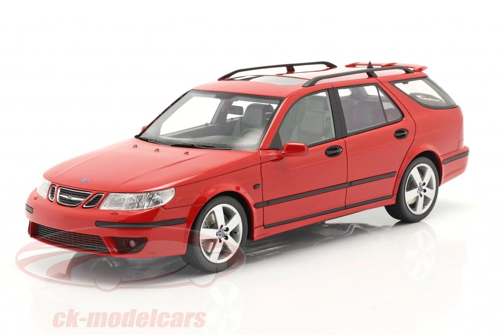 dna-collectibles-1-18-saab-9-5-sportcombi-aero-annee-de-construction-2005-rouge-dna000073/