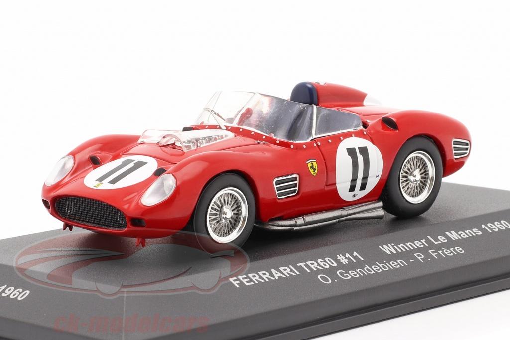 ixo-1-43-ferrari-tr60-no11-winnaar-24h-lemans-1960-gendebien-frere-lm1960/