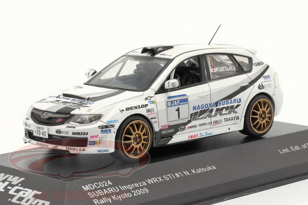 1-43-subaru-impreza-wrx-sti-no1-reunion-kyoto-2009-katsuka-model-car-mdc024/