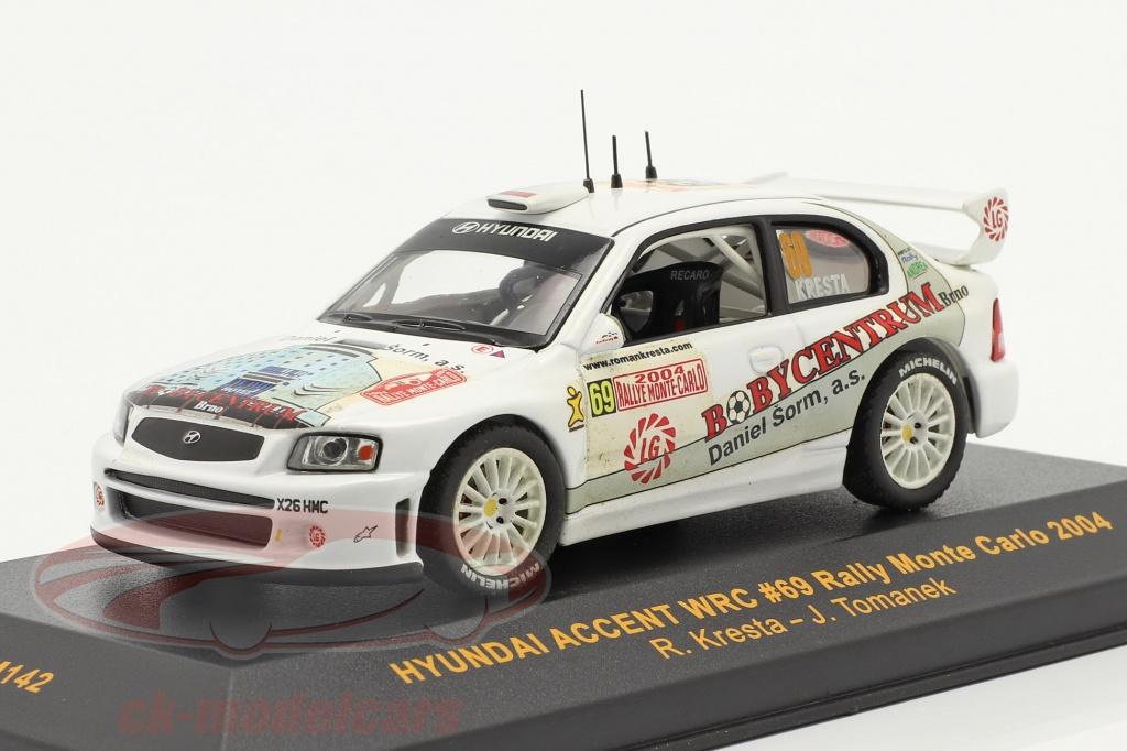 ixo-1-43-hyundai-accent-wrc-no69-rallye-monte-carlo-2004-kresta-tomanek-ram142/